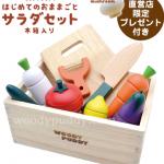 ウッディプッディのままごとを紹介、高品質な知育玩具セットです