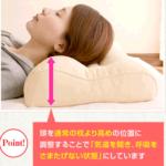 枕専門店、リビングインピースさんを紹介。人気のいびき枕など!